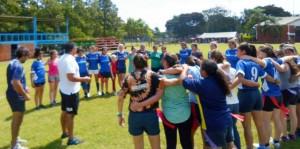 Exitoso encuentro de rugby femenino en el club Capri