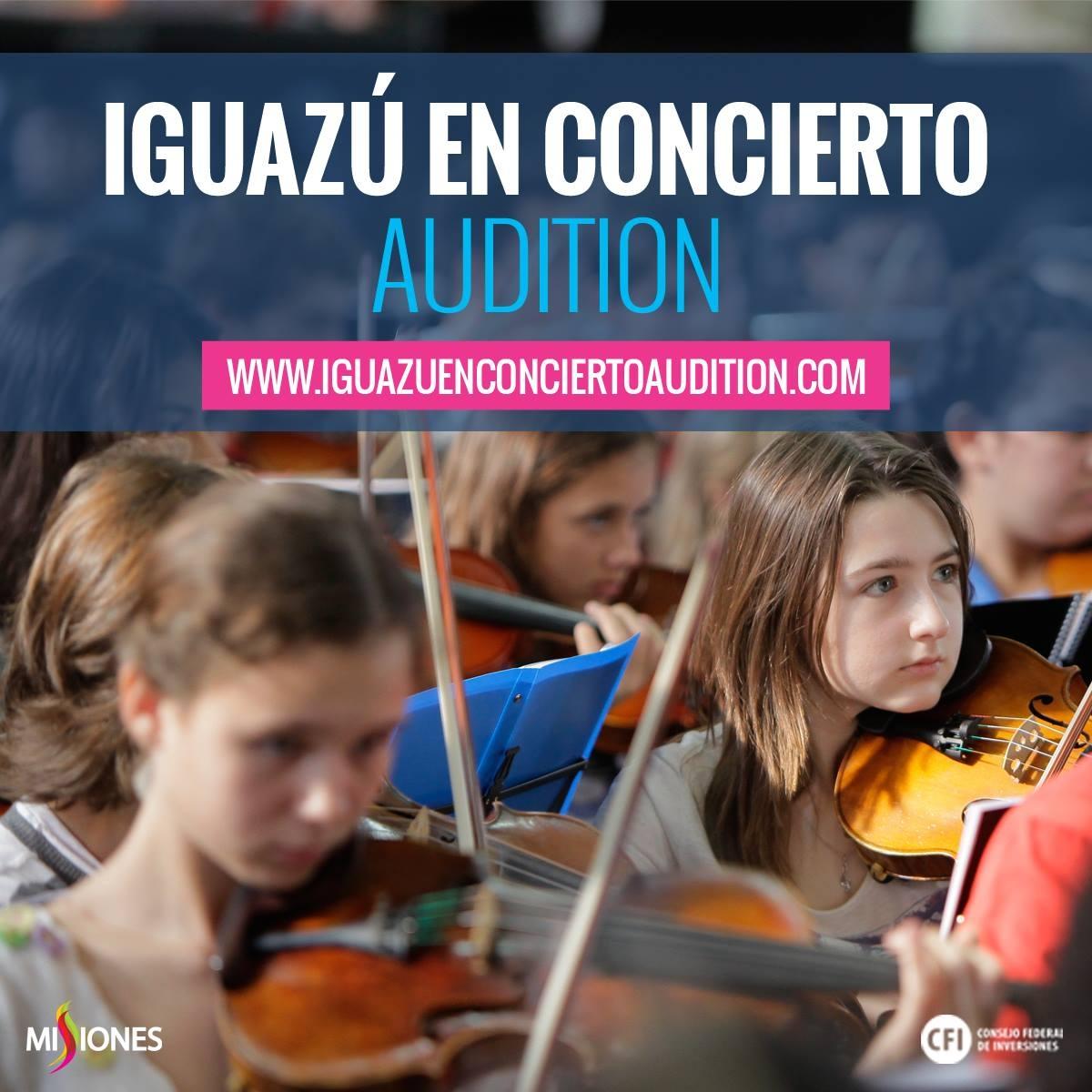 Iguazú en Concierto Audition se extiende un día más