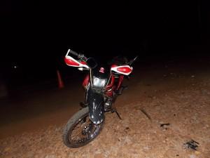 Investigan choque en el que falleció un motociclista de 23 años en el paraje Dos Hermanas