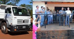 El Gobierno provincial sigue con la entrega de maquinas viales a municipios de Misiones
