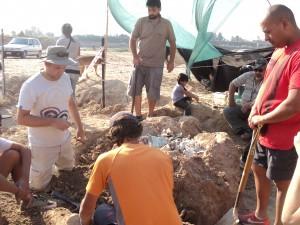 Hallan animales prehistóricos en Marcos Paz