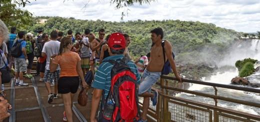 Unas 25 mil personas visitaron Cataratas del Iguazú este fin de semana largo