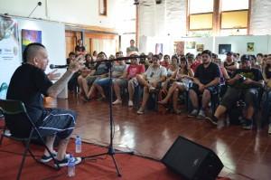 Andrés Giménez: un A.N.I.M.A.L. que cautivó con su humildad y pasión por la música en la Clínica 13