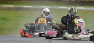 Karting: Desafiaron el clima y se brindaron a pleno en el Rosamonte de Posadas