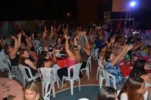 Unas mil mujeres fueron agasajadas por el Ministerio Salud Pública en el Hogar de Día