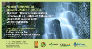 Harán una jornada de de sensibilización turística en El Soberbio