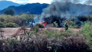 Al menos 10 muertos al chocar dos helicópteros en La Rioja