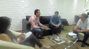 Garay recibió al presidente de las Ferias Francas