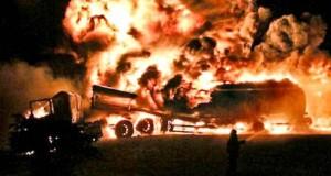 Wanda: identificaron a los camioneros que perecieron calcinados en el choque sobre la ruta 19