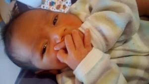 Luca es el primer bebé nacido bajo los cuidados del Hogar de Día de Iguazú