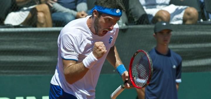 Copa Davis: Mayer puso el corazón y empató la serie ante Brasil