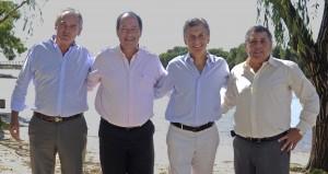 Macri y Sanz anunciaron un acuerdo para confluir en un espacio electoral común en Entre Ríos