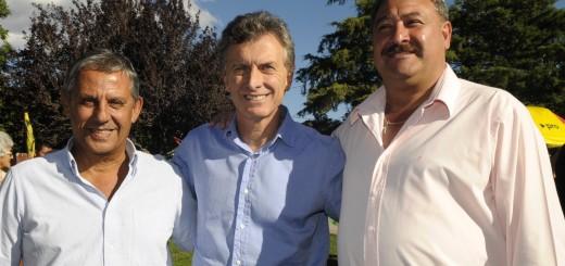 Macri junto a sus candidatos en Neuquén