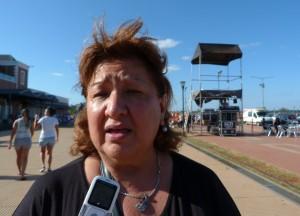"""Amelia Báez: """"La bandera de la Memoria, Verdad y Justicia siempre debe llevarse en alto"""""""