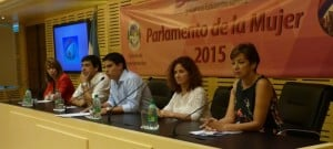 El Parlamento de la Mujer se realizará el 31 de marzo