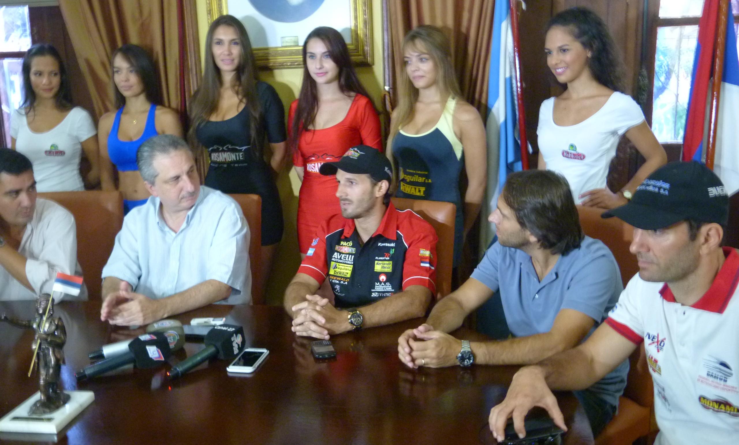 Motos: presentaron la carrera del Argentino de Velocidad, del 13 al 15 de marzo en el Rosamonte