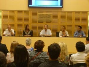 """""""Los derechos humanos no se enseñan, se los vive y se los expresa"""" afirmó Santos Benetti"""