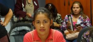 El Parlamento de la Mujer es presidido por una joven de 19 años