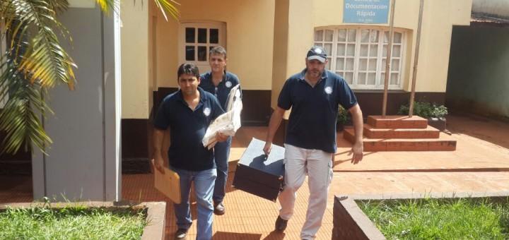 Muerte del changarín en Guaraní: secuestran documentos y hacen un relevamiento fotográfico en la comisaría