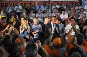 Scioli compartió intensa agenda con trabajadores y empresarios