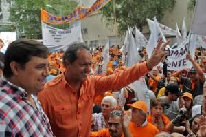 """Scioli: """"Mi responsabilidad es llevar estas políticas a la victoria en octubre"""""""
