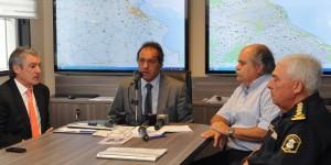 Scioli anunció la suspensión de la cancha de Laferrere luego de la grave pelea de ayer