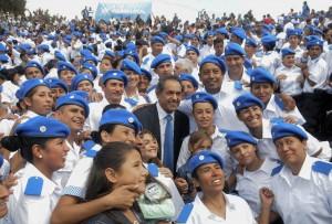 """Scioli se reunió con el alcalde de México para """"complementar experiencias"""""""