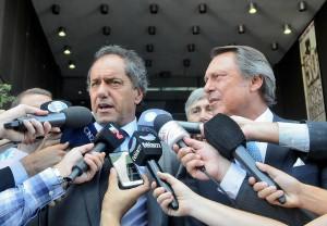 """""""Implementamos la herramienta constitucional más importante entre Justicia y la gente"""" aseguró Scioli"""