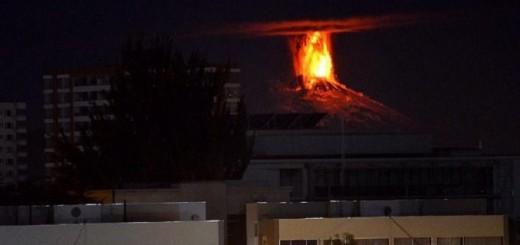 Hay 3.000 evacuados por la erupción del volcán chileno Villarrica y temor en Junín de los Andes