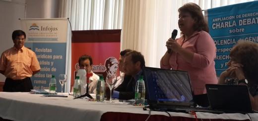 Realizaron una charla debate sobre violencia de Género en el hotel Continental