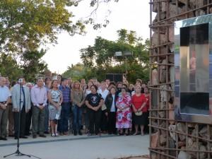 Día de la Memoria: inauguraron el monumento en la plazoleta de la Reforma Universitaria