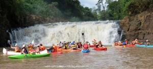 Aventura, camaradería y paisajes en la travesía náutica que unió Iguazú y Puerto Bemberg