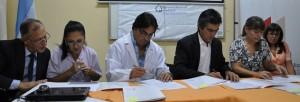 Se firmaron convenios de cooperación mutua entre la UCAMI y Salud Pública