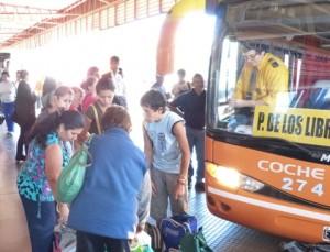 Desde la terminal de Posadas indican que el movimiento turístico fue superior al año pasado