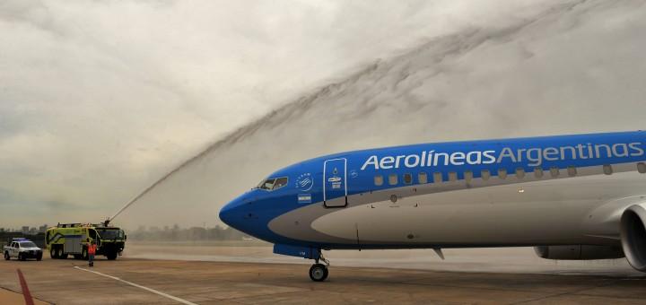 Cristina confirmó oficialmente el vuelo Iguazú-El Calafate