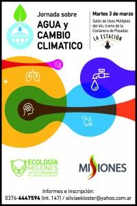 Ecología realizará una jornada sobre Agua y Cambio climático