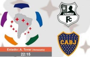 Boca defiende su invicto copero frente a Zamora