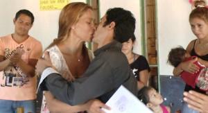 Dos parejas se casaron en la cárcel de Eldorado