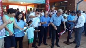 Closs inauguró la escuela especial número 33 en Andresito