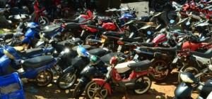 Realizarán remates de motos desguazadas en Oberá