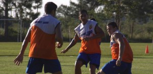 Crucero: Fútbol reducido y trabajos de velocidad pensando en Sarmiento