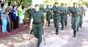 En Eldorado, el Escuadrón X de Gendarmería Nacional cumplió 70 años