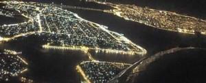 Vista aérea de la ciudad de Encarnación, a 400 años de su fundación