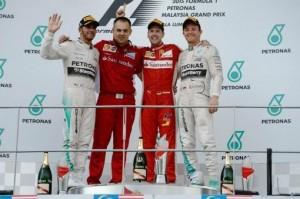 Ferrari volvió al triunfo de la mano de Vettel en el Gran Premio de Malasia