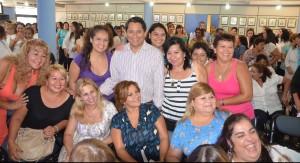 Trabajadoras municipales fueron agasajadas por el Día de la Mujer