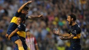 Boca goleó a Estudiantes en la Bombonera y acecha a San Lorenzo