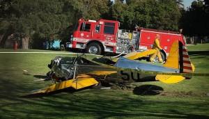 Harrison Ford está bien después de estrellarse con su avión en Los Ángeles
