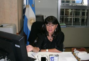 Julia Perié adelantó que hará el reclamo correspondiente por la situación del gas en Misiones