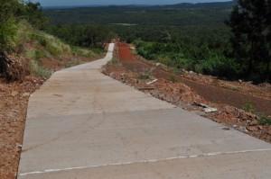 Avanza a buen ritmo el nuevo acceso al Cerro Monje