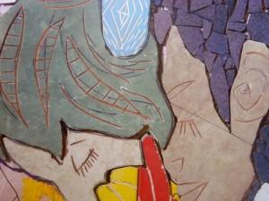 Avanza el mural por el día de la mujer en la Facultad de Humanidades